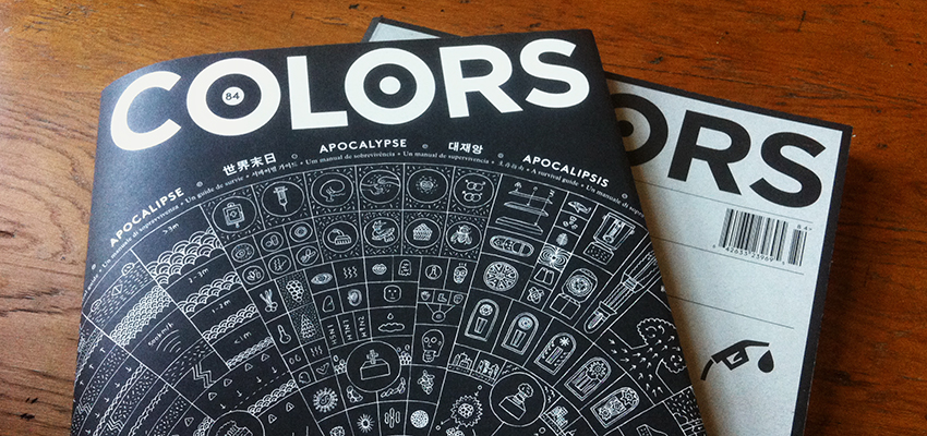 "Colors, ""Apocalypse—A Survival Guide"""