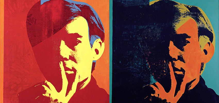 Andy Warhol, Self-Portrait, 1967.