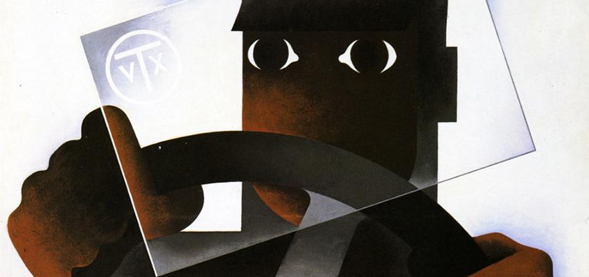 A.M. Cassandre, Triplex, 1930.