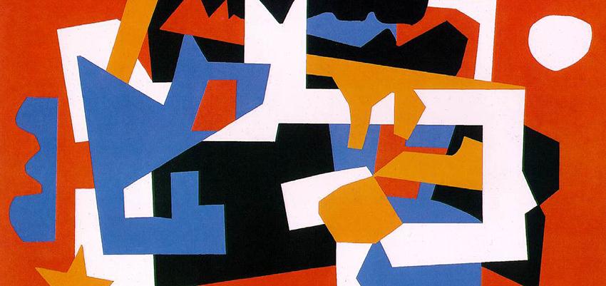 Stuart Davis, Colonial Cubism, 1954.