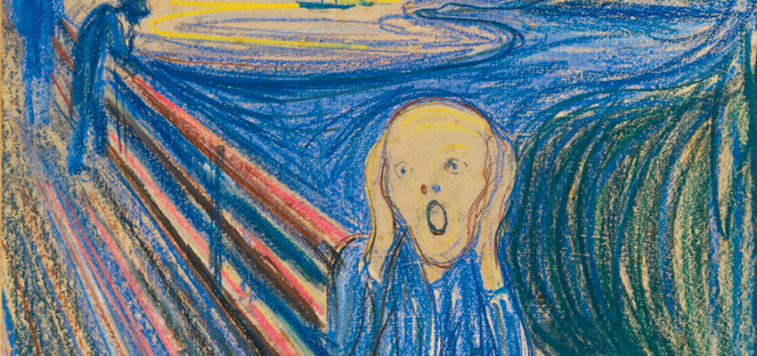 Edvard Munch, The Scream, 1895.