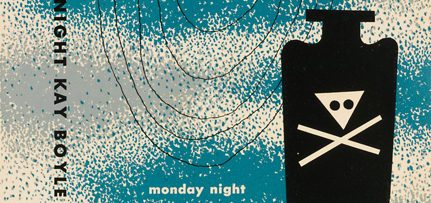 Alvin Lustig, Kay Boyle, Monday Night, 1947.
