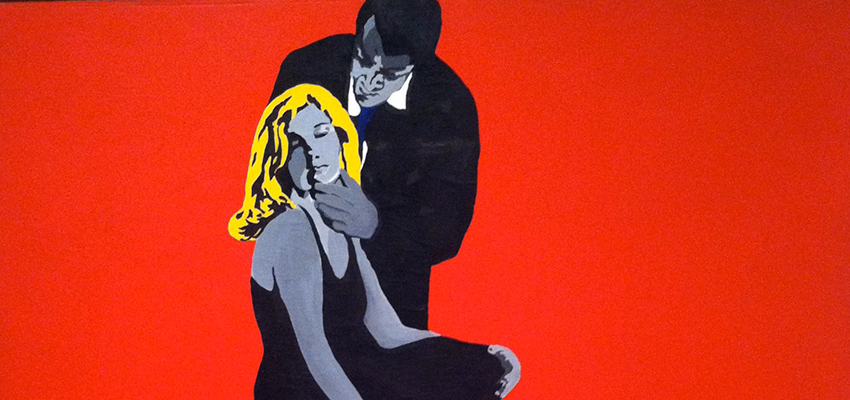 Rosalyn Drexler, Love and Violence, 1965.
