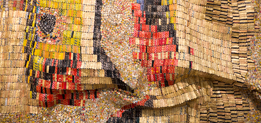 El Anatsui, Earth's Skin, 2007.